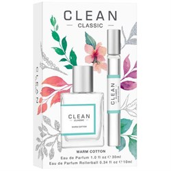 Clean Warm Cotton Eau de Parfum Gift Set
