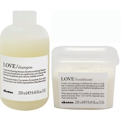 Davines Love Curl Shampoo + Conditioner sampak