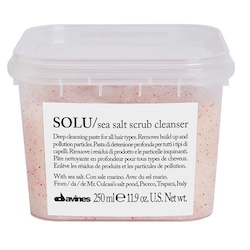 Davines SOLU Sea Salt Scrub Cleanser 250 ml