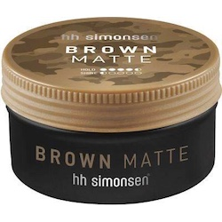 HH Simonsen Brown Matte Wax 100ml