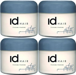 Id Hair Extreme Titanium 100ml x 4