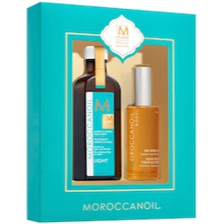 Moroccanoil 10 Years Special Edition - Light Oil 100ml + Dry Body Oil 50ml