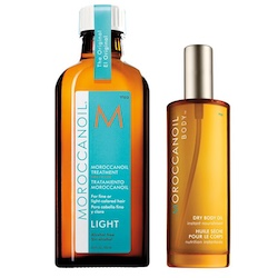 Moroccanoil Head-To-Toe Signature Set - Treatment Oil Light 100ml + Dry Body Oil 50ml