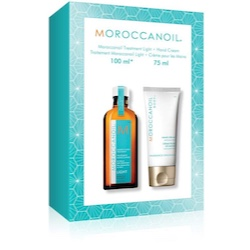 Moroccanoil Treatment Light 100 ml + Hand Cream 75 ml