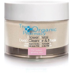 The Organic Pharmacy Flower Petal Deep Cleanser & Mask 60g