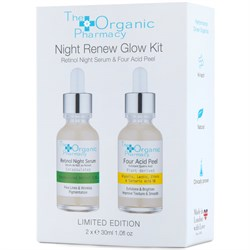 The Organic Pharmacy Night Renew Glow Kit 2x30ml