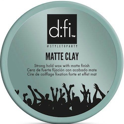 d:fi Matte Clay Strong Hold Wax 75g