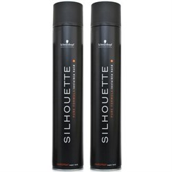 Schwarzkopf Silhouette Super Hold Hairspray 300ml x 2